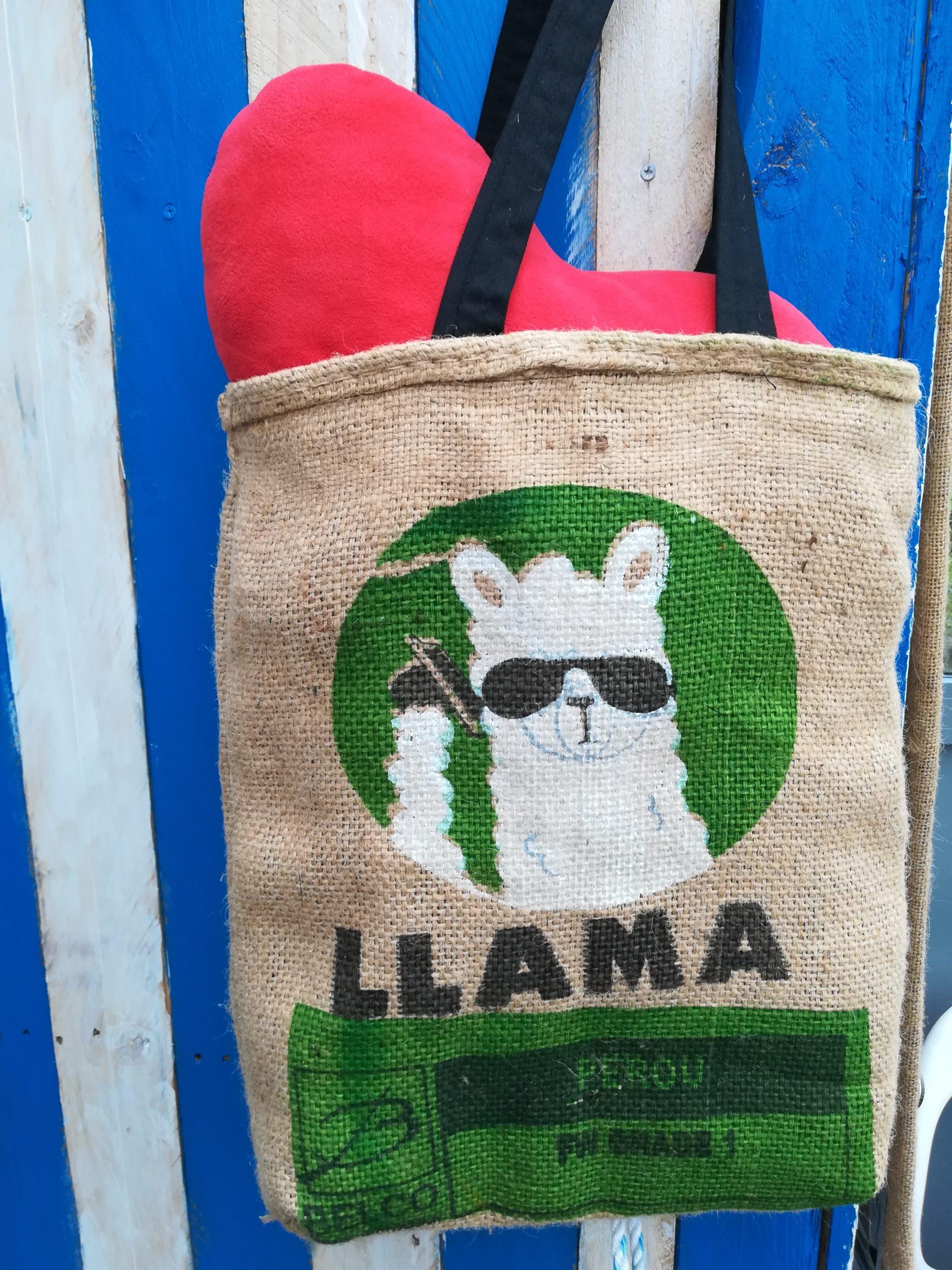 Tote-bag Lama